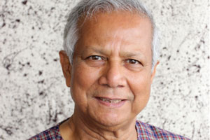 Professor Muhammad Yunus - Women at the centre of our economic activity