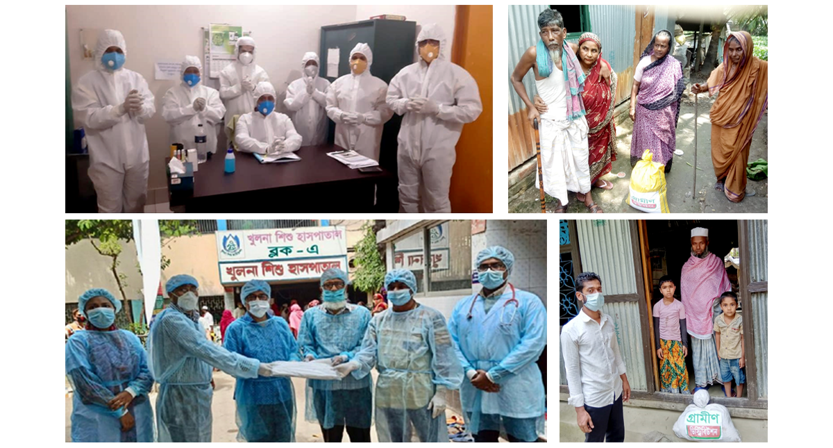 Grameen organizations have come forward to tackle the Corona pandemic