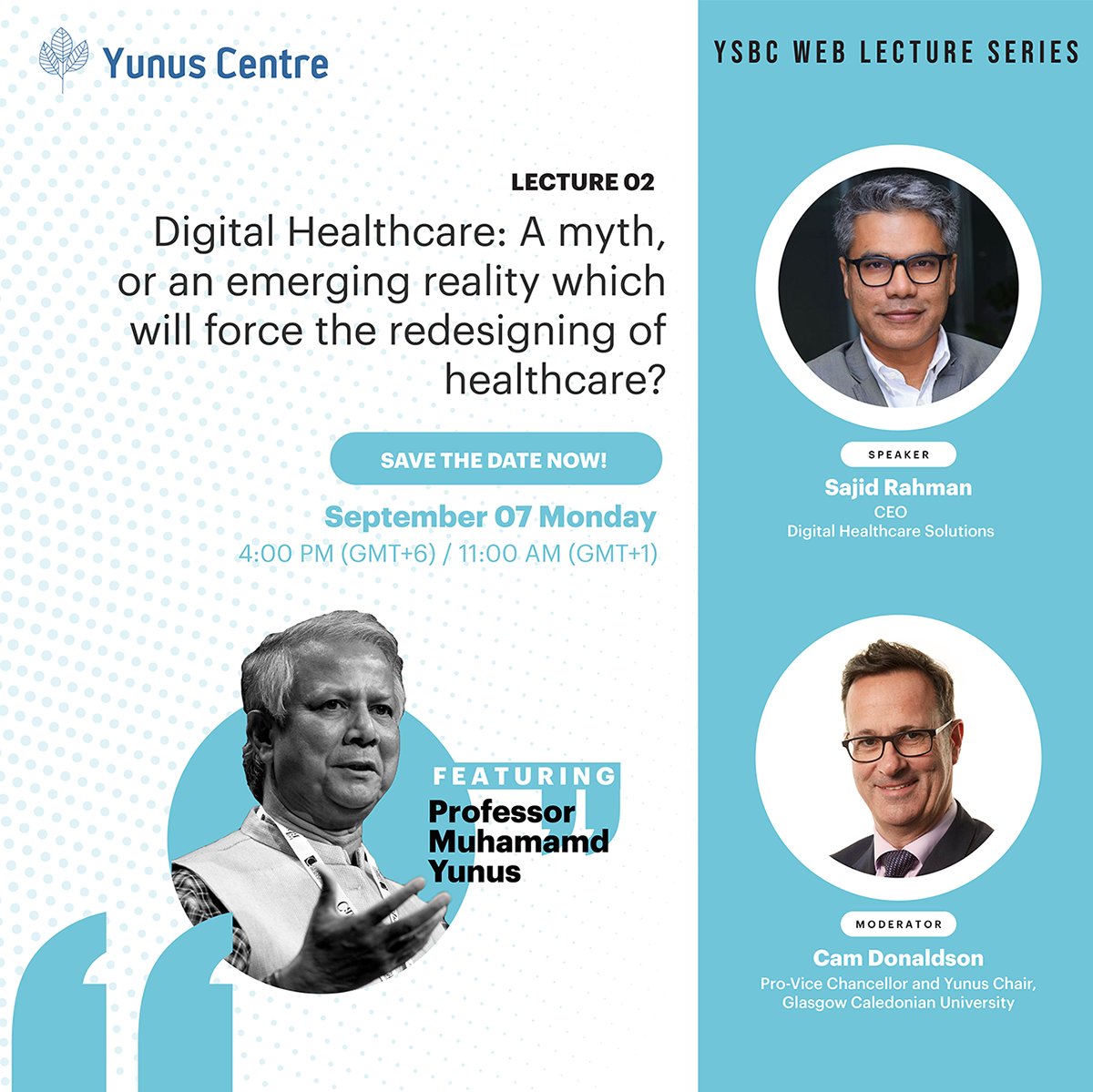 Registration now open for Lecture 02 of YSBC Web Lecture Series