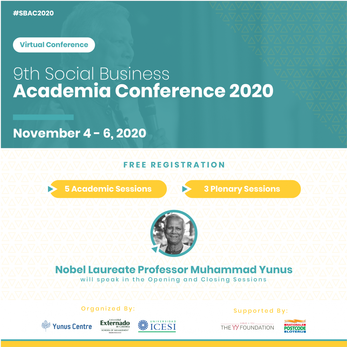 9th Social Business Academia Conference - November 4-6, 2020