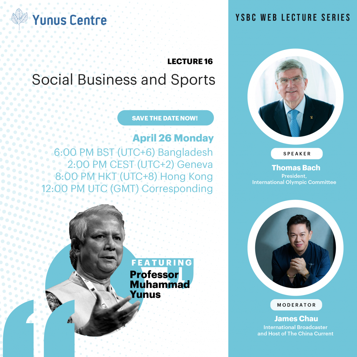 YSBC Web Lecture Series - Lecture#16: Social Business and Sports