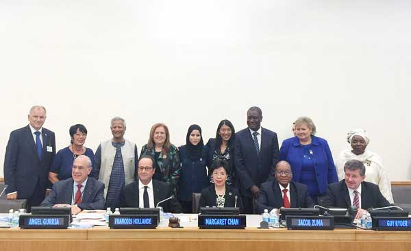 WHO Special Global Health Commission Report Submitted  to UN Secretary General at UN Headquarters: Yunus's Social Business Highlighted