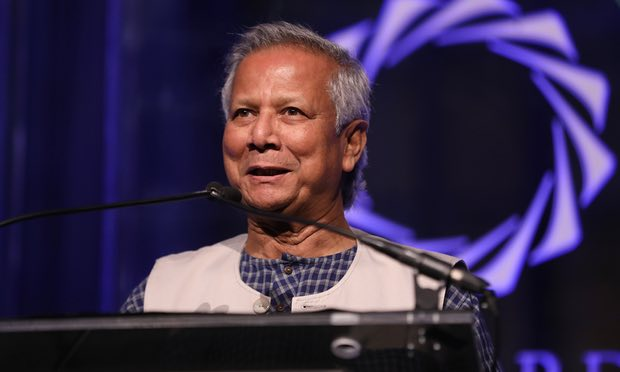 'We are all entrepreneurs': Muhammad Yunus on changing the world, one microloan at a time
